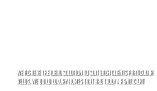 Licensed Luxury Home Builder Text